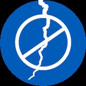 no cracks icon